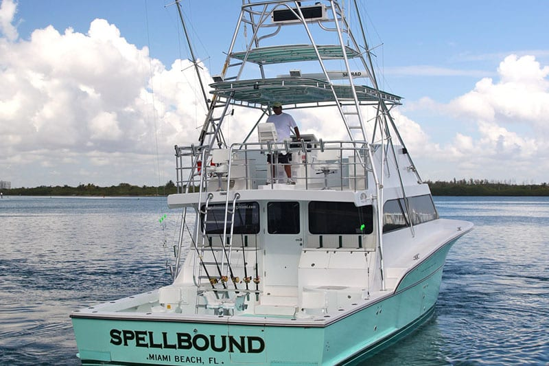 The Spellbound really for a great day at Haulover Sandbar